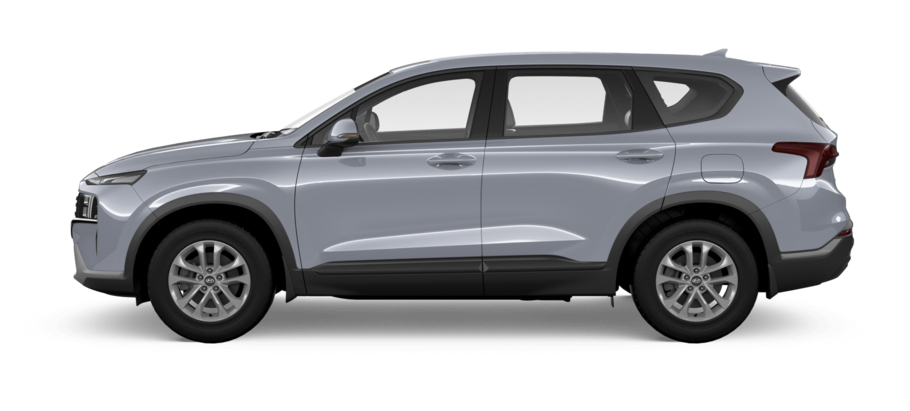 Серебристый Hyundai New Santa Fe High-Tech, 2019 год, VIN 06924 – цена, описание и характеристики — фото № 2