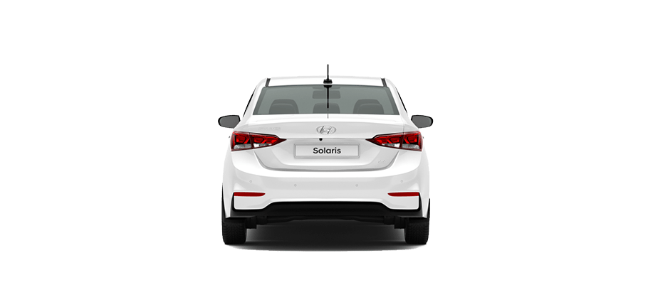 Белый Hyundai Solaris Active Plus, 2019 год, VIN 01262 – цена, описание и характеристики — фото № 3
