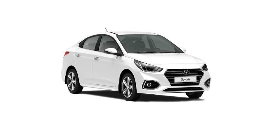 Белый Hyundai Solaris Active Plus, 2019 год, VIN 01262 – цена, описание и характеристики — фото № 1