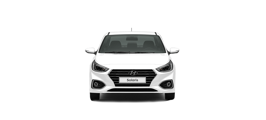 Белый Hyundai Solaris Active Plus, 2019 год, VIN 01262 – цена, описание и характеристики — фото № 2