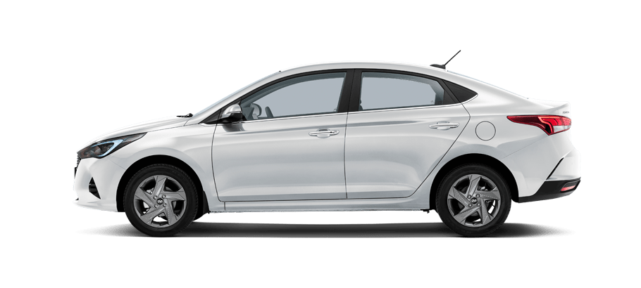 Белый Hyundai New Solaris Active Plus, 2021 год, VIN 69736 – цена, описание и характеристики — фото № 3