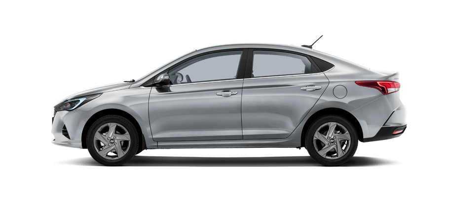 Серебристый Hyundai New Solaris Active Plus, 2020 год, VIN 42182 – цена, описание и характеристики — фото № 3