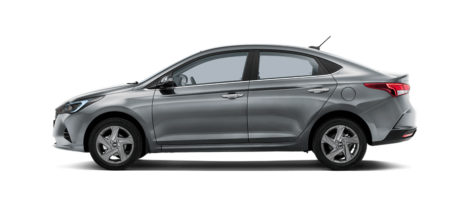 Серый Hyundai New Solaris Active Plus, 2020 год, VIN 24042 – цена, описание и характеристики — фото № 4